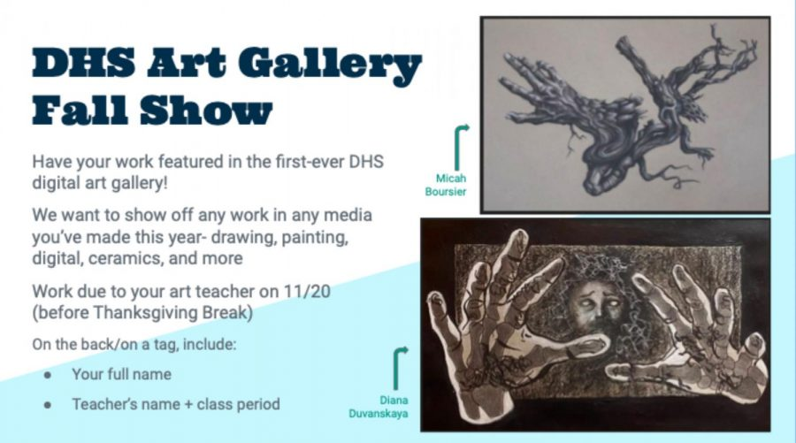 DHS Fall Art Show Accepting Submissions