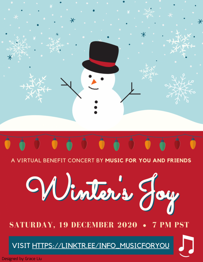 "Music For You hosts their ""Winter's Joy"" Benefit Concert"