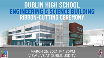 The ribbon cutting ceremony for the new Science & Engineering building will take place this Friday at 1:30 p.m.
